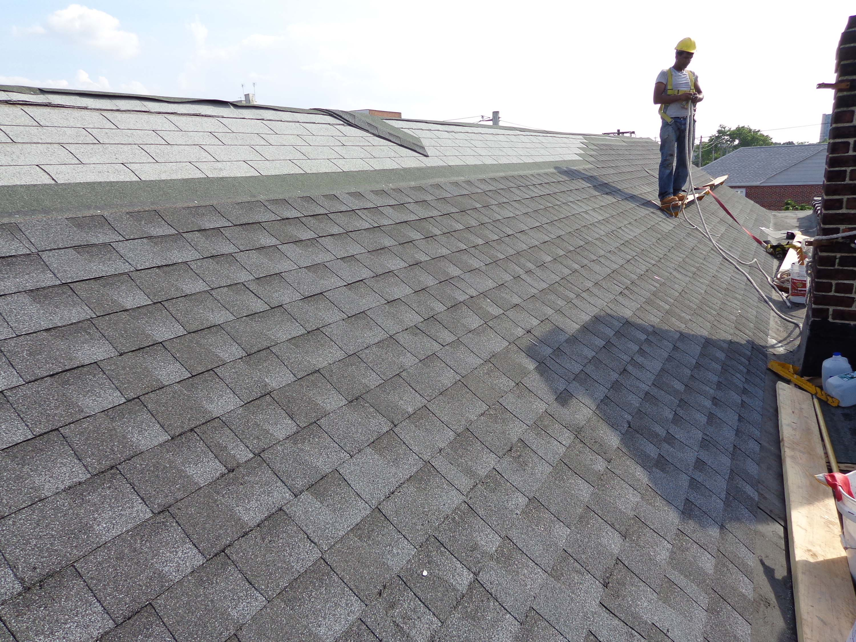 Ny shingle roof repairs shingle roof repair contractors for New roof design