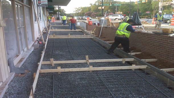 Concrete Work - Concrete Contractor Dallas, Texas - NIS Construction Inc. General Contractors in Dallas Texas Concrete