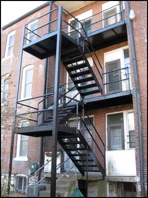 Fire Escape Rebuild Work Manhattan New York - Empire GEN Construction USA Inc.