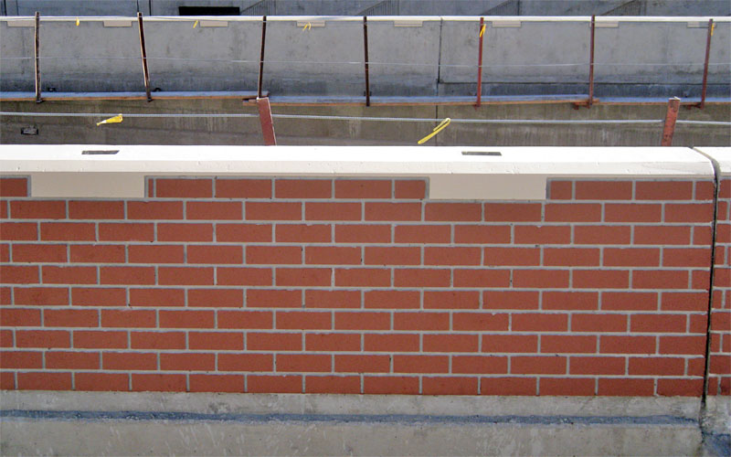Rebuilt Parapet Wall NY Empire Gen Construction USA Inc.