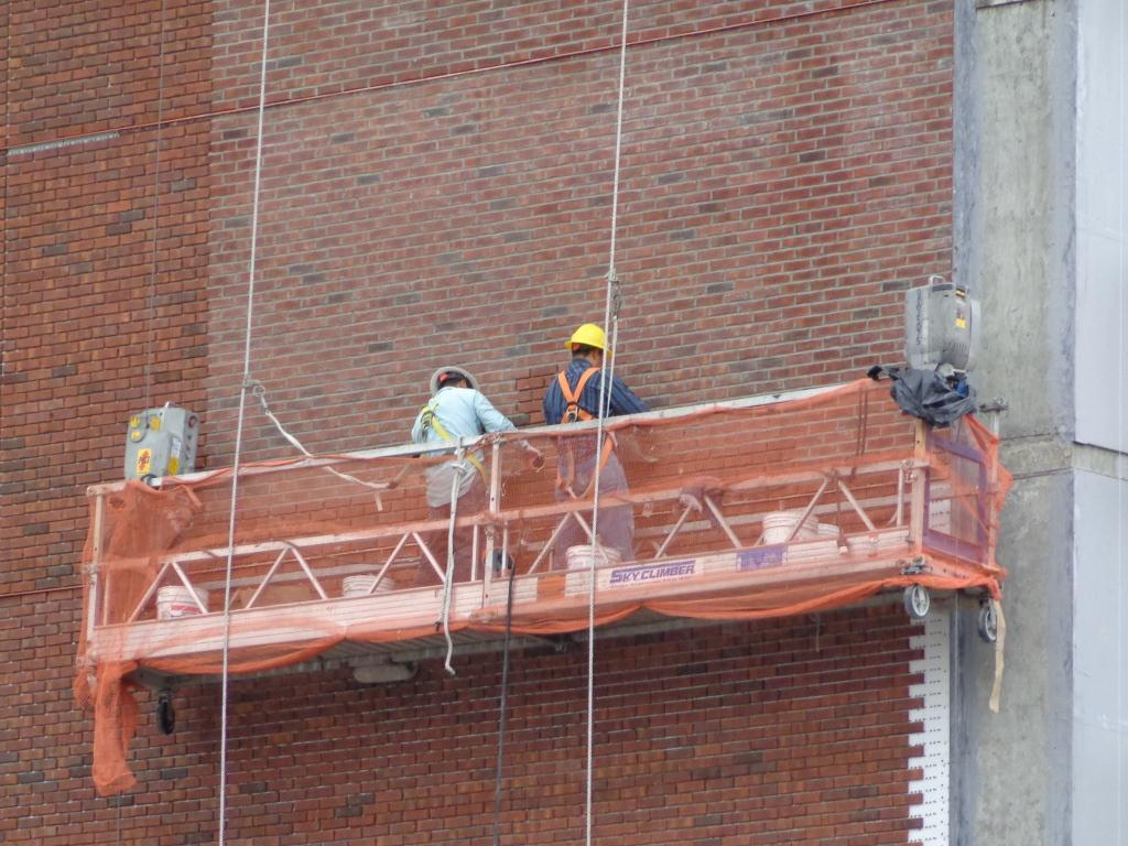 Scaffold Building Work